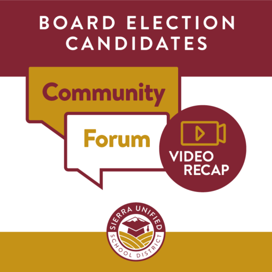 Video Recap of Board Election Candidates Community Forum from October 5, 2020