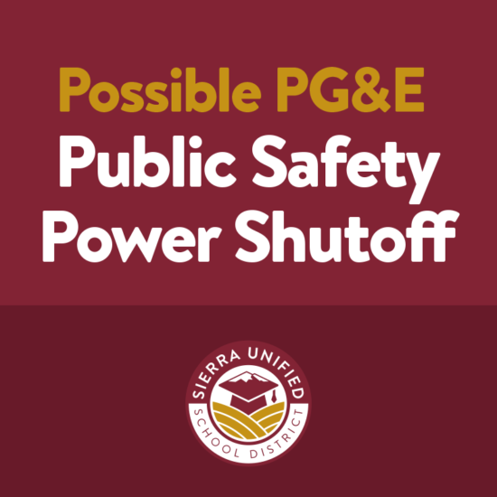 Possible PG&E Public Safety Power Shutoff