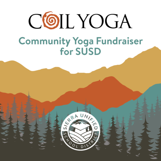 Community Yoga Fundraiser For SUSD on Saturday, October 17, 2020