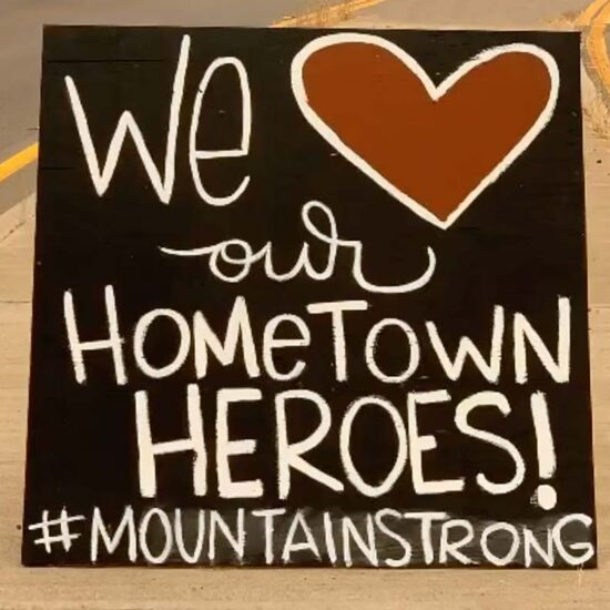 Sending Love to our Hometown Heroes