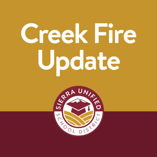 Creek Fire Update September 9th
