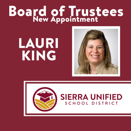 Board of Trustees - New Appointment