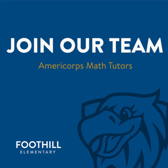 Join Our Team - Americorp Math Tutors Needed